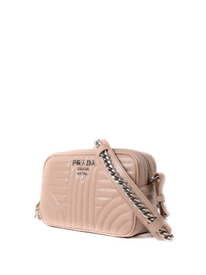 Prada: cross body bags online - Diagramme leather bag