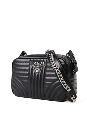 Prada: cross body bags online - Diagramme soft cross body bag