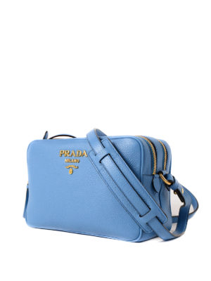 Prada: cross body bags online - Leather cross body bag