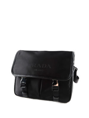 Prada: cross body bags online - Nylon and saffiano bag