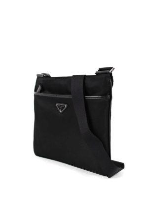Prada: cross body bags online - Nylon cross body bag