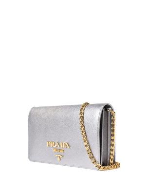 Prada: cross body bags online - Saffiano rectangular crossbody