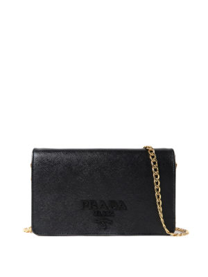Prada: cross body bags - Saffiano leather cross body bag