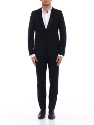 Prada: dinner suits online - Wool and mohair tuxedo