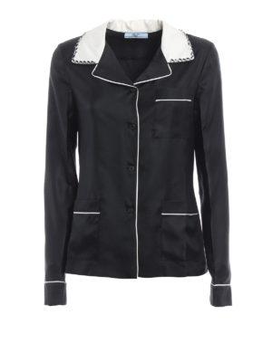 Prada: dinner suits - Silk twill suit