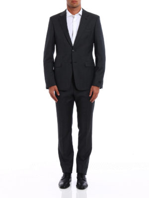 Prada: formal suits online - Pinpoint wool formal suit
