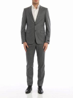 Prada: formal suits online - Super 120's wool suit