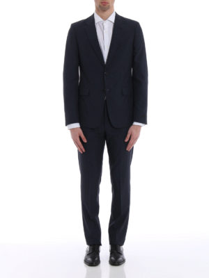 Prada: formal suits online - Wool and silk blend classic suit