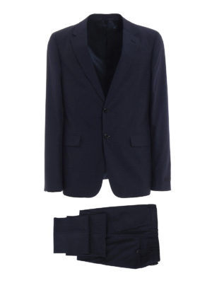 Prada: formal suits - Wool and silk blend classic suit