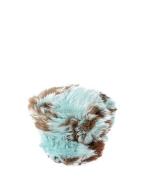 Prada: hats & caps online - Shearling fur hat