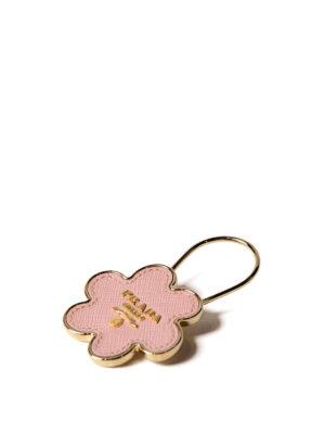 Prada: key holders online - Flower-shaped key holder