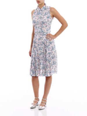 Prada: knee length dresses online - Printed Sablé Lily dress
