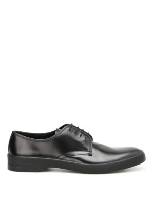 Prada: lace-ups shoes - Brushed leather Derby shoes