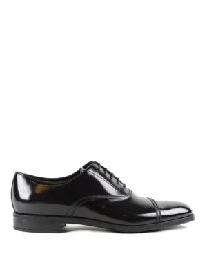 Prada: lace-ups shoes - Brushed leather lace-ups