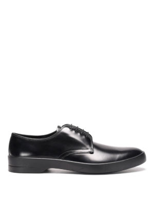 Prada: lace-ups shoes - Chunky sole leather lace-ups