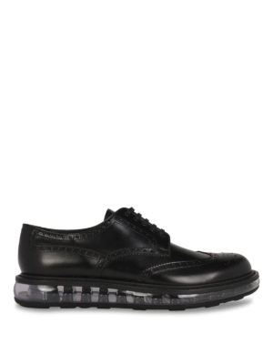 Prada: lace-ups shoes - Clear sole Derby brogue