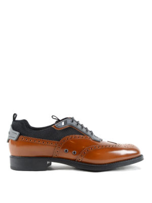 Prada: lace-ups shoes - Derby shoes with rubber inserts