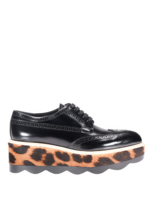 Prada: lace-ups shoes - Haircalf sole leather Derby shoes