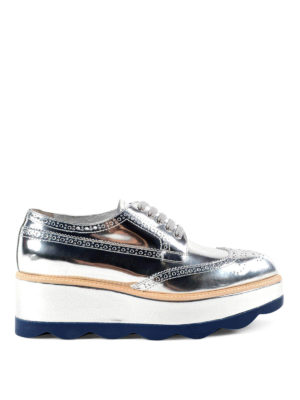 Prada: lace-ups shoes - Leather and rubber lace-ups
