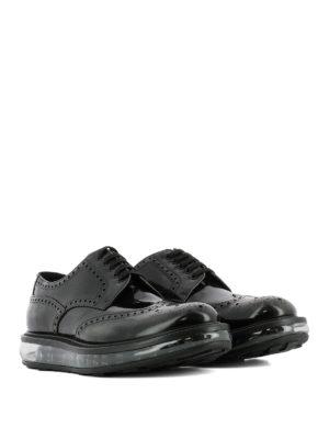 Prada: lace-ups shoes online - Brogue Derby platform shoes