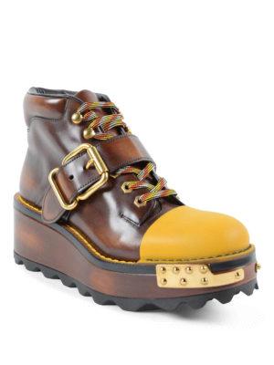 Prada: lace-ups shoes online - Lace-ups boots