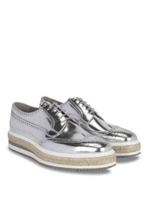 Prada: lace-ups shoes online - Rope detail Derby brogue