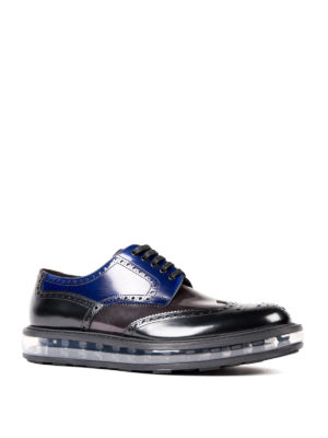 Prada: lace-ups shoes online - Sheer sole Derby brogues