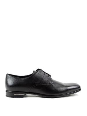 Prada: lace-ups shoes - Saffiano leather lace-ups