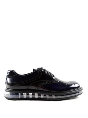 Prada: lace-ups shoes - Shaded brushed leather Oxford