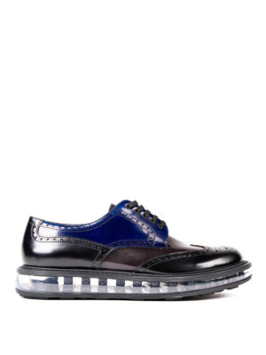 Prada: lace-ups shoes - Sheer sole Derby brogues