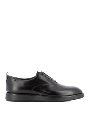 Prada: lace-ups shoes - Smooth leather black Oxford shoes