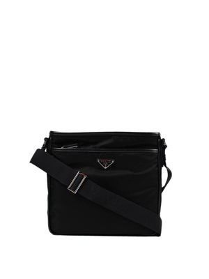 Prada: laptop bags & briefcases - Fabric and Saffiano messenger bag