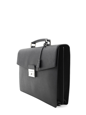 Prada: laptop bags & briefcases online - Saffiano leather satchel