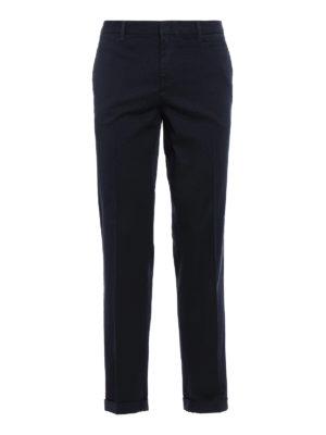 Prada Linea Rossa: casual trousers - Cotton chino trousers