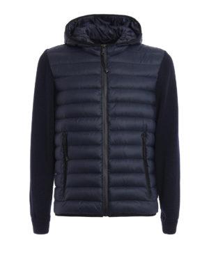 Prada Linea Rossa: padded jackets - Double fabric jacket