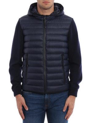 Prada Linea Rossa: padded jackets online - Double fabric jacket
