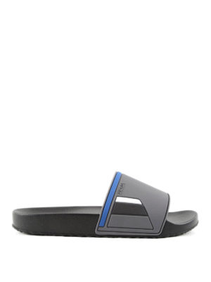 Prada Linea Rossa: sandals - Rubber slides
