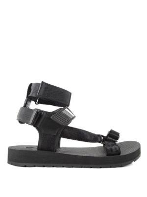 Prada Linea Rossa: sandals - Webbing