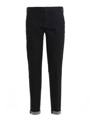 Prada Linea Rossa: straight leg jeans - Cotton denim jeans