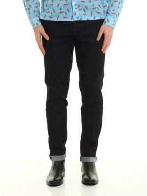 Prada Linea Rossa: straight leg jeans online - Cotton denim jeans