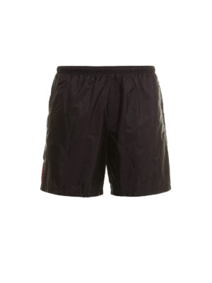 Prada Linea Rossa: Swim shorts & swimming trunks - Lightweight nylon swim shorts