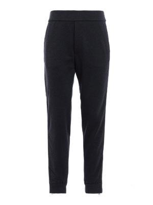 Prada Linea Rossa: tracksuit bottoms - Jersey track pants