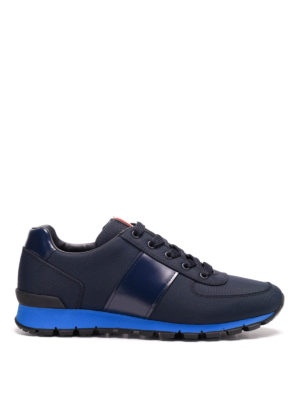 Prada Linea Rossa: trainers - Fabric and leather sneakers