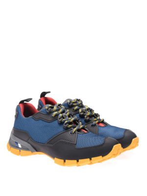 Prada Linea Rossa: trainers online - Nylon and rubberized leather shoes