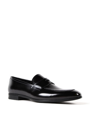 Prada: Loafers & Slippers online - Polished leather loafers