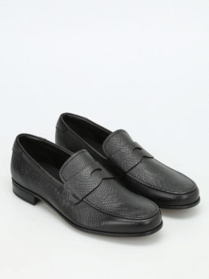 Prada: Loafers & Slippers online - Saffiano leather loafers