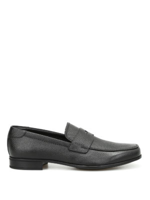 Prada: Loafers & Slippers - Saffiano leather loafers