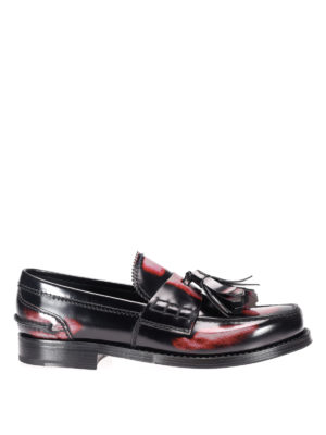 Prada: Loafers & Slippers - Shaded leather loafers
