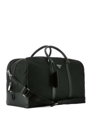 Prada: Luggage & Travel bags online - Fabric travel duffle bag