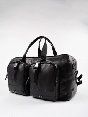 Prada: Luggage & Travel bags online - Smooth leather travel bag